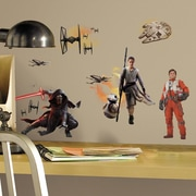 Room Mates Star Wars Ep VII Ensemble Cast P and S Wall Decal