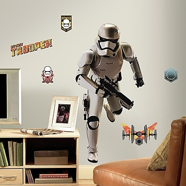 Room Mates Star Wars Ep VII Storm Trooper P and S Giant Wall Decal