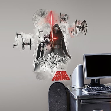 Room Mates Star Wars Ep VII Villians Burst P and S Giant Wall Decal