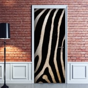 WallPops! Zebra Door Decal