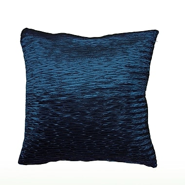 Wildon Home Dakayla Pillow Cover; Peacock Blue