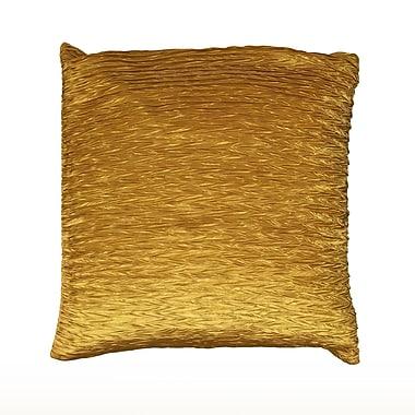 Wildon Home Dakayla Pillow Cover; Gold