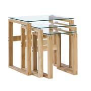 Diamond Sofa Cascade 3 Piece Nesting Tables