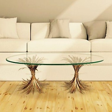 Fashion N You Wheat Gold Antique Coffee Table