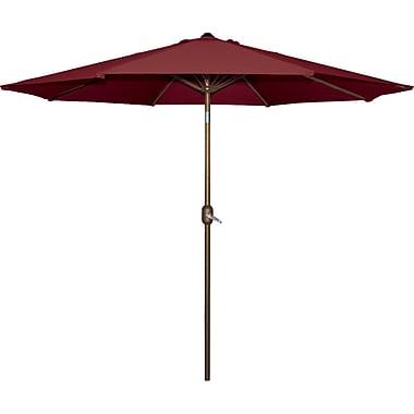 Bond 9' Market Umbrella; Burgundy