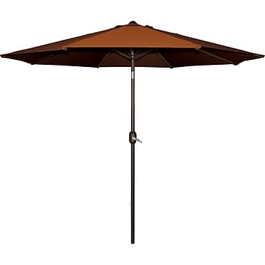Bond 9' Market Umbrella; Terra Cotta