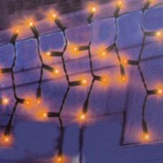 PennDistributing 50 Light Flickering Window Drape