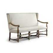 Zentique Inc. Franck Upholstered Bench; White