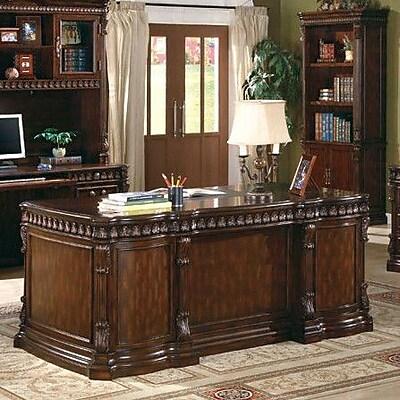Wildon Home Corning Drawers Executive Desk Staples