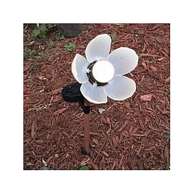 Artscapes Solar Powered Animated Flower Statue (Set of 2)