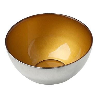 Creative Gifts International Condi Bowl; Gold