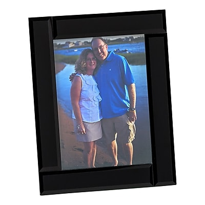 Creative Gifts International Midnight Picture Frame; 5'' x 7''
