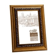 Philip Whitney Bevel Leaf Picture Frame; 5'' x 7''