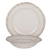 Shinepukur Ceramics USA, Inc. Everglades Bone China 24 Piece Completer Set