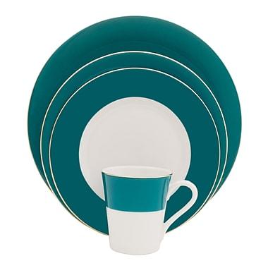 Shinepukur Ceramics USA, Inc. Valley Fine China 16 Piece Dinnerware Set, Service for 4