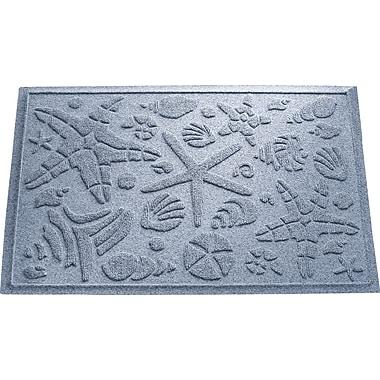 Bungalow Flooring Aqua Shield Beachcomber Doormat; Bluestone