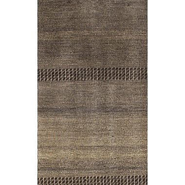 Pasargad NY Hand-Knotted Brown/Beige Area Rug
