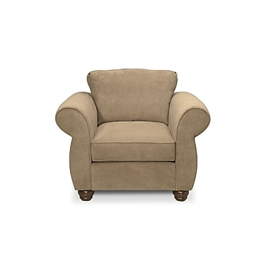 Gregson Classics Gregory Armchair; Two Tone Pecan