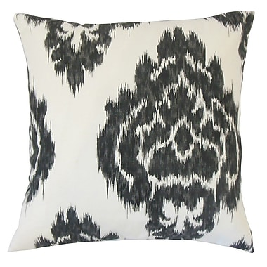 The Pillow Collection Mahendra Ikat Cotton Throw Pillow; 18'' x 18''
