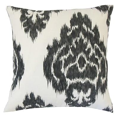 The Pillow Collection Mahendra Ikat Cotton Throw Pillow; 20'' x 20''