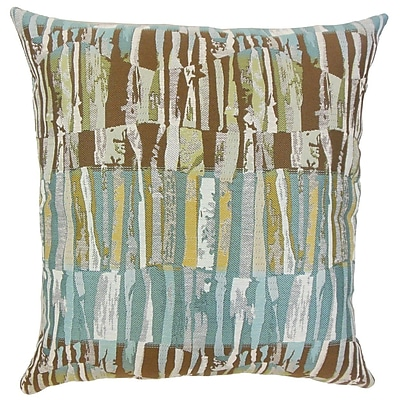 The Pillow Collection Bevin Graphic Throw Pillow; 18'' x 18''