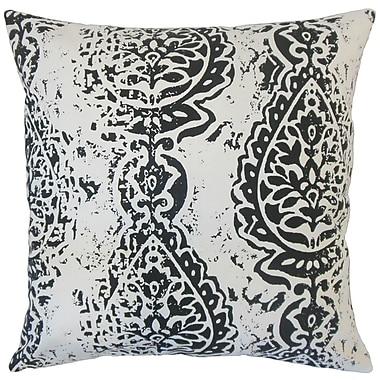 The Pillow Collection Camaxtli Ikat Cotton Throw Pillow; 20'' x 20''