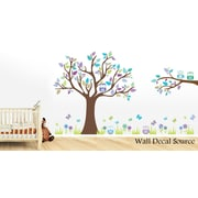 Wall Decal Source Tree and Owl Nursery Wall Decal; Scheme B