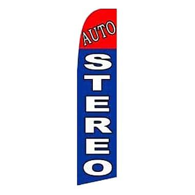 NeoPlex Auto Stereo Swooper Flag