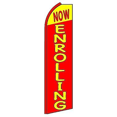 NeoPlex Now Enrolling Swooper Flag