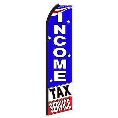 NeoPlex Income Tax Service USA Swooper Flag