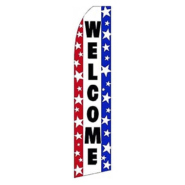 NeoPlex Welcome Stars Swooper Flag