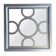Cheungs Wood Frame Wall Mirror w/ Wood Cutout Design