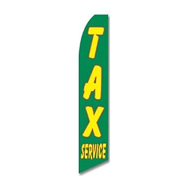 NeoPlex Tax Service Swooper Flag