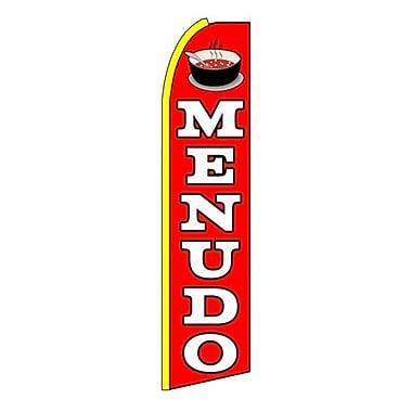 NeoPlex Menudo Swooper Flag