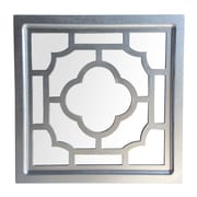 Cheungs Wood Frame Mirror w/ Wood Cutout Design