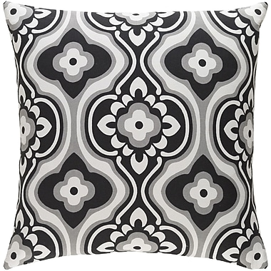 Artistic Weavers Trudy Cotton Throw Pillow; Black/ White