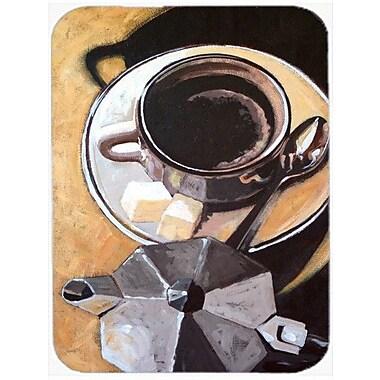 Caroline's Treasures Coffee I Glass Cutting Board