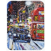 Caroline's Treasures London Snow Glass Cutting Board