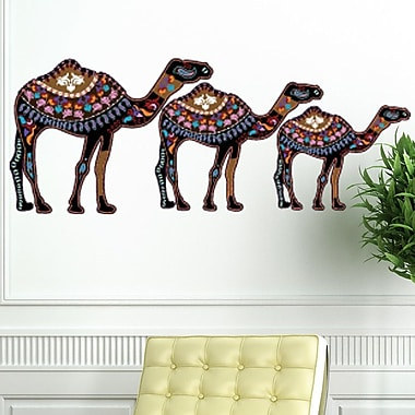 Style and Apply Ethnic Camels Wall Decal; 20'' H x 46'' W