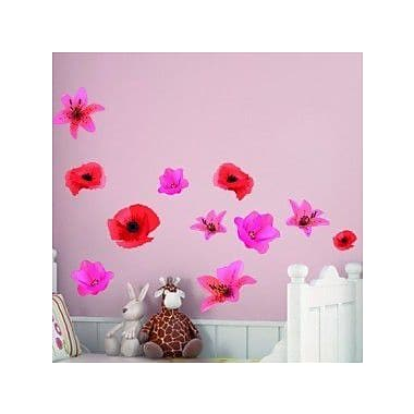 Style and Apply Flower Set Wall Decal; 46'' H x 45'' W