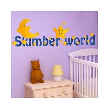 Style and Apply Slumber World Land Wall Decal; 10'' H x 31'' W