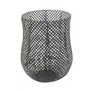 Sagebrook Home Metal Barrel Basket