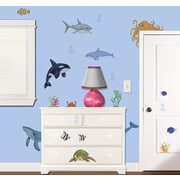 Borders Unlimited Under the Water Super Jumbo Appliqu  Wall Decal
