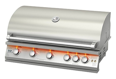 BroilChef 5-Burner Built-In Natural Gas Grill