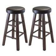 Luxury Home Marta 25.4'' Bar Stool (Set of 2)