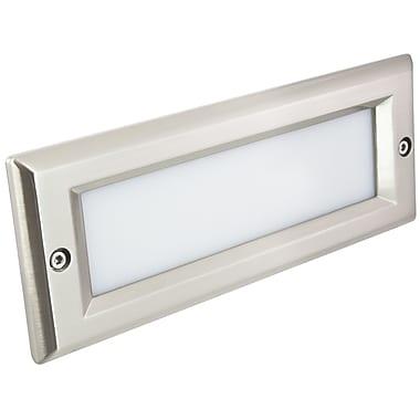 American Lighting LLC Step light Cover; Stainless Steel