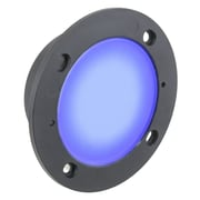American Lighting LLC 1-Light LED Step Light; Blue
