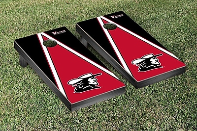 Victory Tailgate NCAA Triangle Version Cornhole Game Set; Virginia at Wise Cavaliers