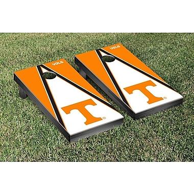 Victory Tailgate NCAA Triangle Version Cornhole Game Set; Tennessee Vols Volunteers