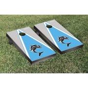 Victory Tailgate NCAA Triangle Version Cornhole Game Set; Staten Island Dolphins
